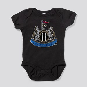 Vintage Newcastle United FC Crest Baby Bodysuit