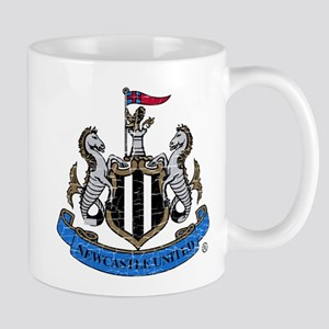 Vintage Newcastle United FC Cres 11 oz Ceramic Mug