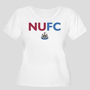 Newcastle Uni Women's Plus Size Scoop Neck T-Shirt