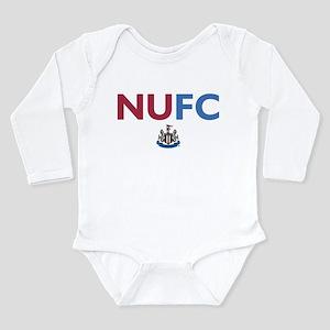 Newcastle United FC Long Sleeve Infant Bodysuit