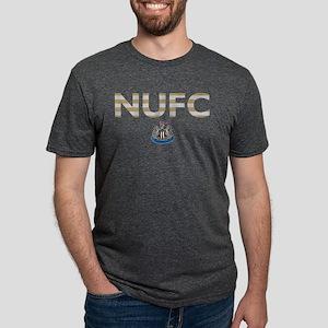 Newcastle United FC stripes Mens Tri-blend T-Shirt