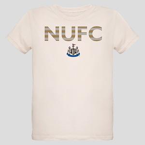 Newcastle United FC stripes Organic Kids T-Shirt