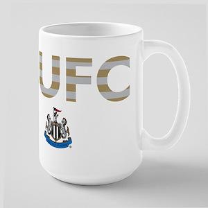 Newcastle United FC strip 15 oz Ceramic Large Mug