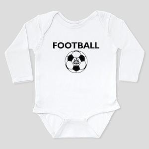 Football Newcastle Uni Long Sleeve Infant Bodysuit