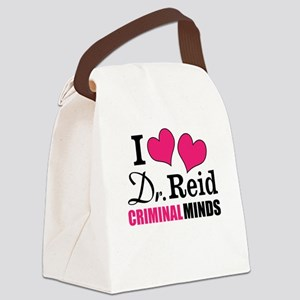Dr. Reid Canvas Lunch Bag