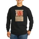 Mathew 6:30 Long Sleeve Dark T-Shirt