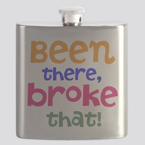 Been there, broke that! Flask