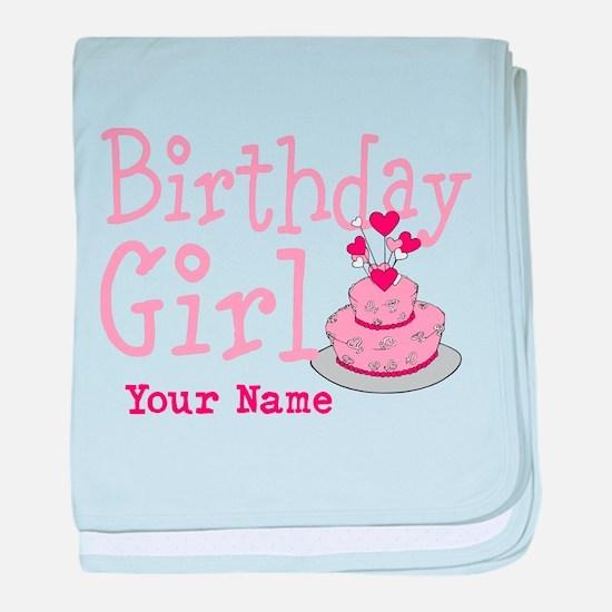 Birthday Girl - Customized baby blanket