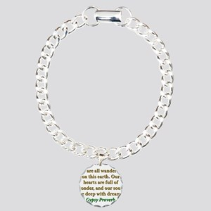 We Are All Wanderers On This Earth Charm Bracelet,
