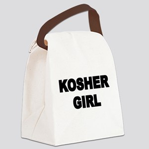 KOSHER GIRL Canvas Lunch Bag