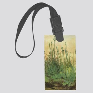 Large Piece of Turf by Albrecht  Large Luggage Tag