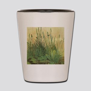 Large Piece of Turf by Albrecht Durer Shot Glass
