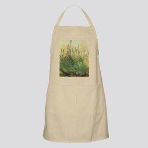 Large Piece of Turf by Albrecht Durer Apron