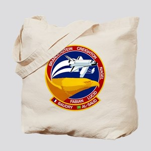 STS-51G Discovery Tote Bag