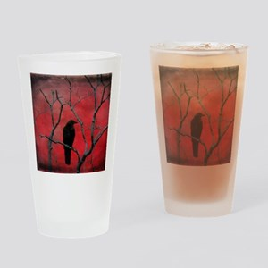 Red Velvet Drinking Glass