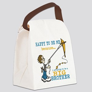 I Am Going to be a Big Brother Canvas Lunch Bag