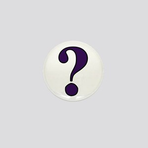 Question Mark Mini Button