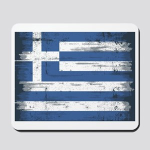 Vintage Greek Flag Mousepad