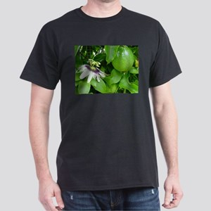 Passion Fruit and Flower Dark T-Shirt