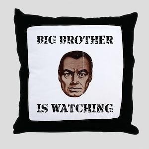 Big Brother Watching Throw Pillow