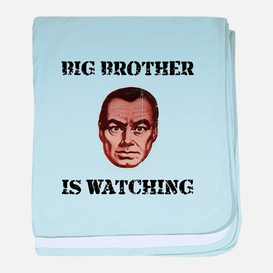 Big Brother Watching baby blanket