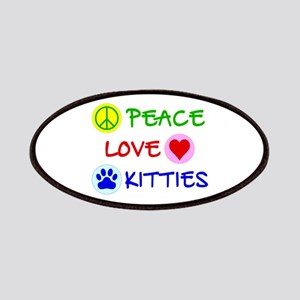 Peace-Love-Kitties Patches