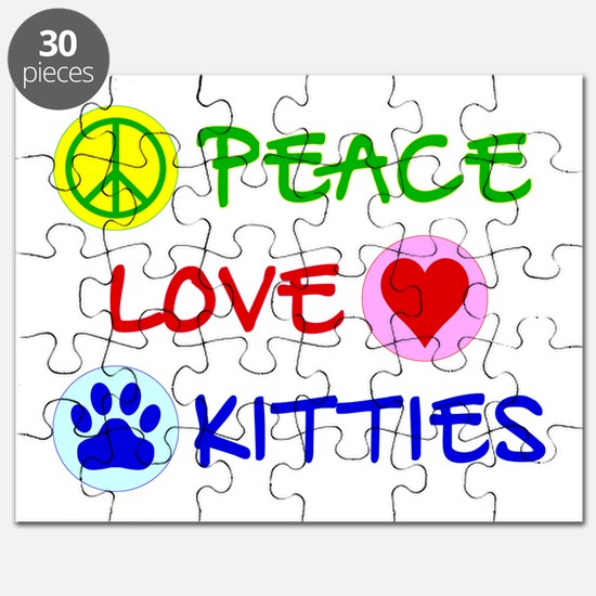 Peace-Love-Kitties Puzzle
