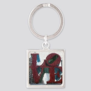 All You Need Is Love Square Keychain