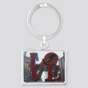 All You Need Is Love Landscape Keychain