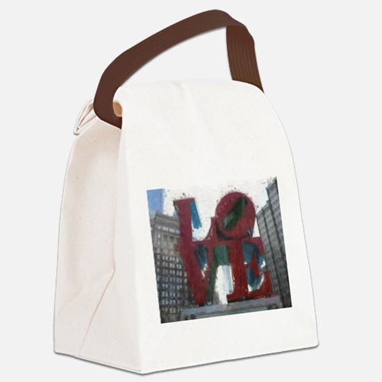 All You Need Is Love Canvas Lunch Bag