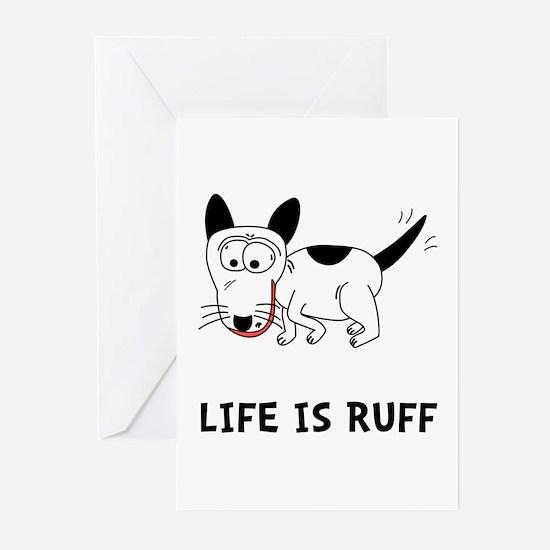 Dog Ruff Greeting Cards