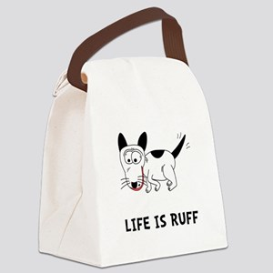 Dog Ruff Canvas Lunch Bag