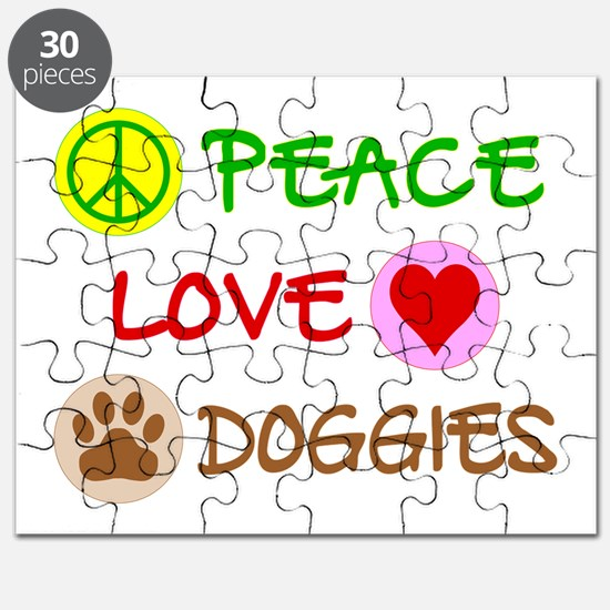 Peace-Love-Doggies Puzzle