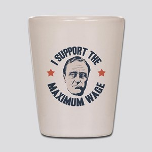 FDR Maximum Wage Shot Glass