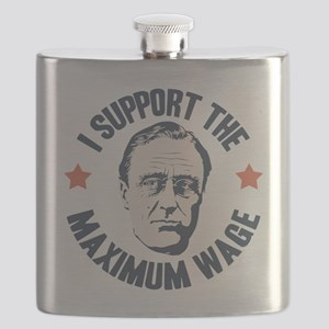FDR Maximum Wage Flask