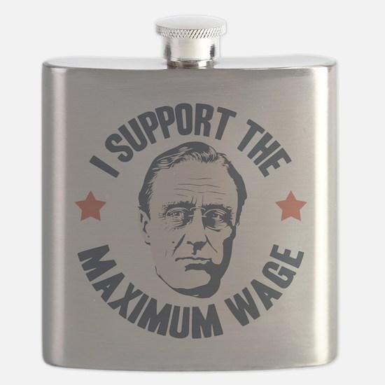 FDR Maximum Wage Flask