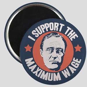 FDR Maximum Wage Magnet