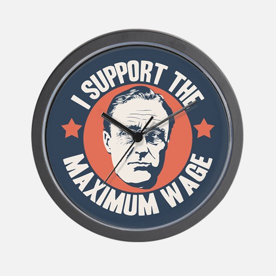 FDR Maximum Wage Wall Clock