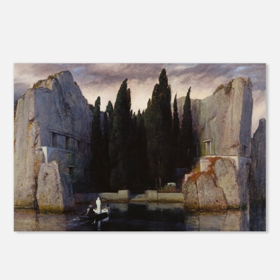 Isle of the Dead by Arnol Postcards (Package of 8)