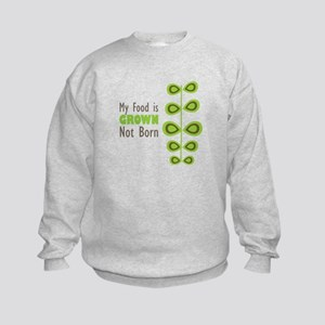 my food Kids Sweatshirt