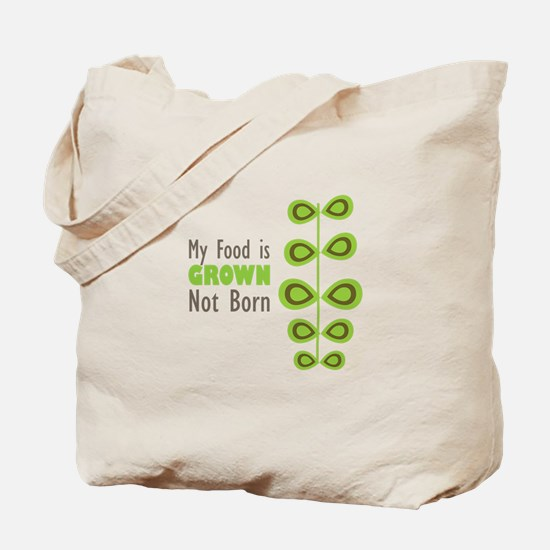 my food Tote Bag
