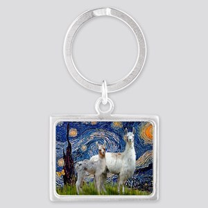 Starry Night - Llama Mama-Baby Keychains