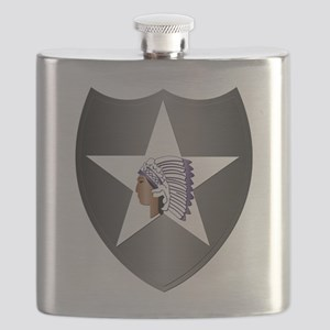 SSI - 2nd Infantry Division Flask