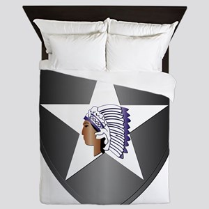 SSI - 2nd Infantry Division Queen Duvet