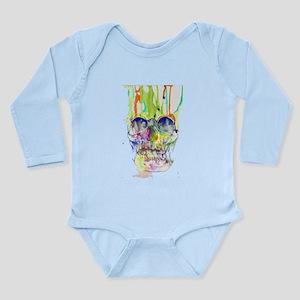 0-24 months Long Sleeve Infant Bodysuit (G)