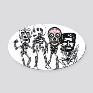 The Crew Oval Car Magnet