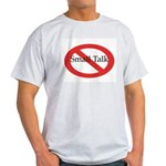 No Small Talk Ash Grey T-Shirt