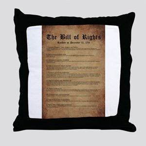 Billofrights Throw Pillow