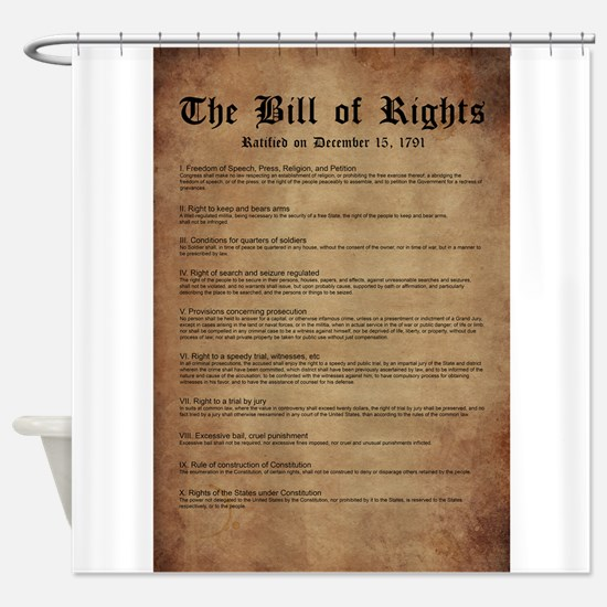 Billofrights Shower Curtain