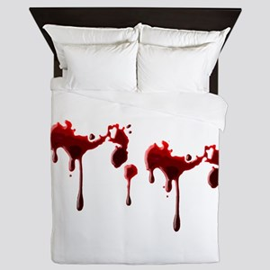 Blood Spatter Queen Duvet